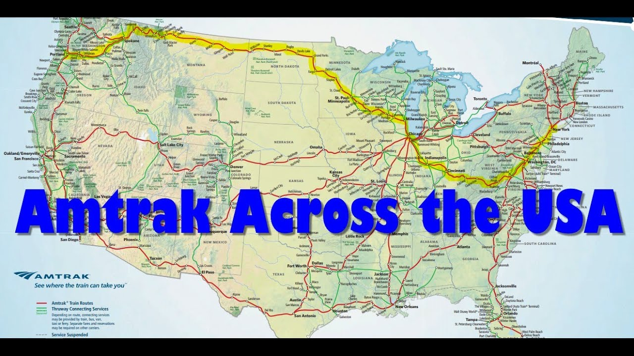 Review Of A Train Ride Across America On Amtrak - Part 1 ...