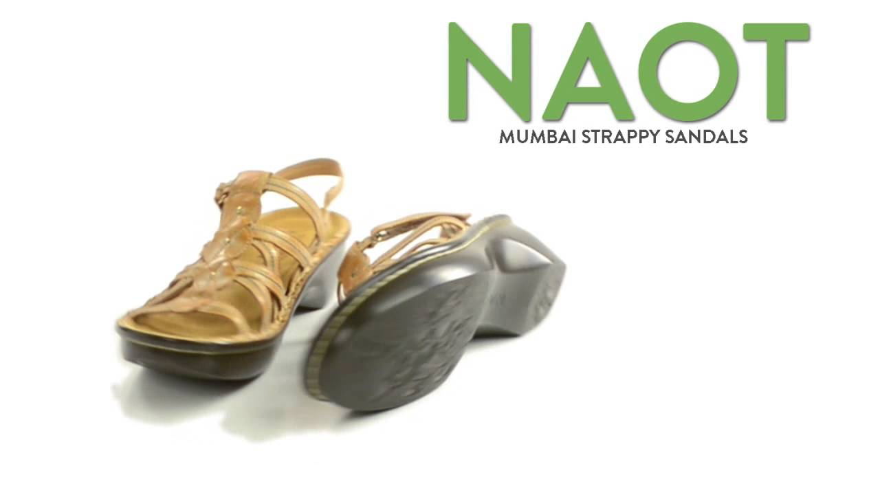 9d62c6c57d553 Naot Mumbai Strappy Sandals (For Women)