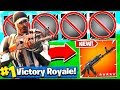 *IMPOSSIBLE* ONE GUN CHALLENGE VICTORY ROYALE! Fortnite Battle Royale Challenges!