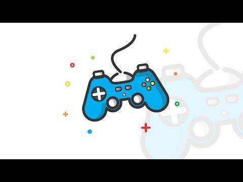 daily-design---joystick-flat-icon-illustration