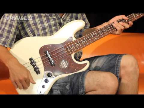Fender American Standard Jazz Bass (Custom Shop '60s Jazz Bass Single-coil)