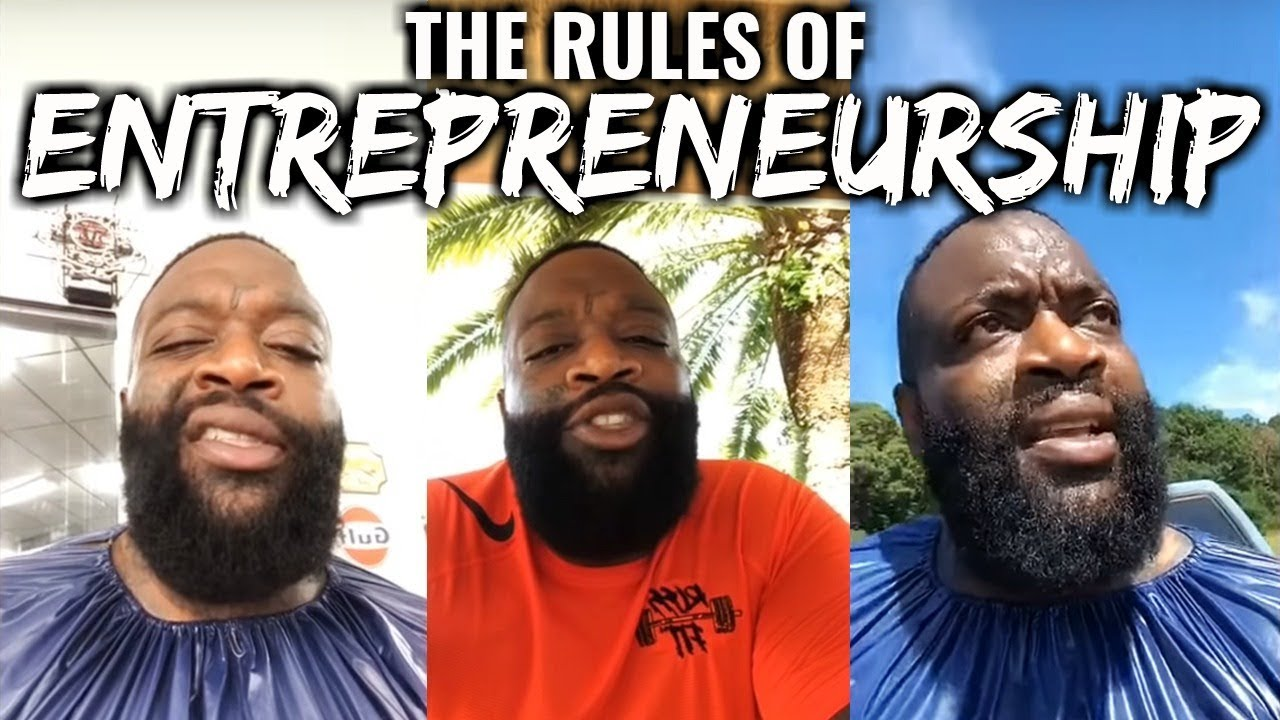 Rick Ross - The Rules Of Entrepreneurship (Boss Talk)