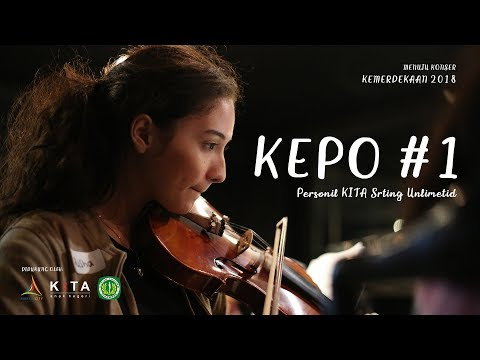 KEPO #1: Personil KITA String Unlimited (Konser Kemerdekaan 2018)