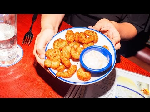 We tried Red Lobster's 'Endless Shrimp' for 7.5 hours