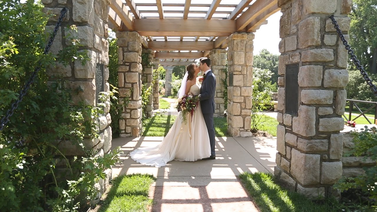 Kassie and Jeff - Kansas City Wedding Videography - Romantic Garden Wedding - YouTube