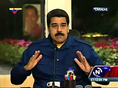 Maduro llama a pasar la página sobre las peleas de las cartas