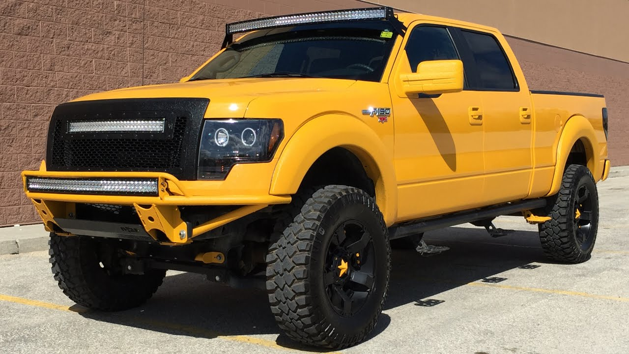 Lifted 2015 Ford F150 >> Lifted 2013 Ford F-150 XLT 4WD from #RTXC | Winnipeg, MB - YouTube