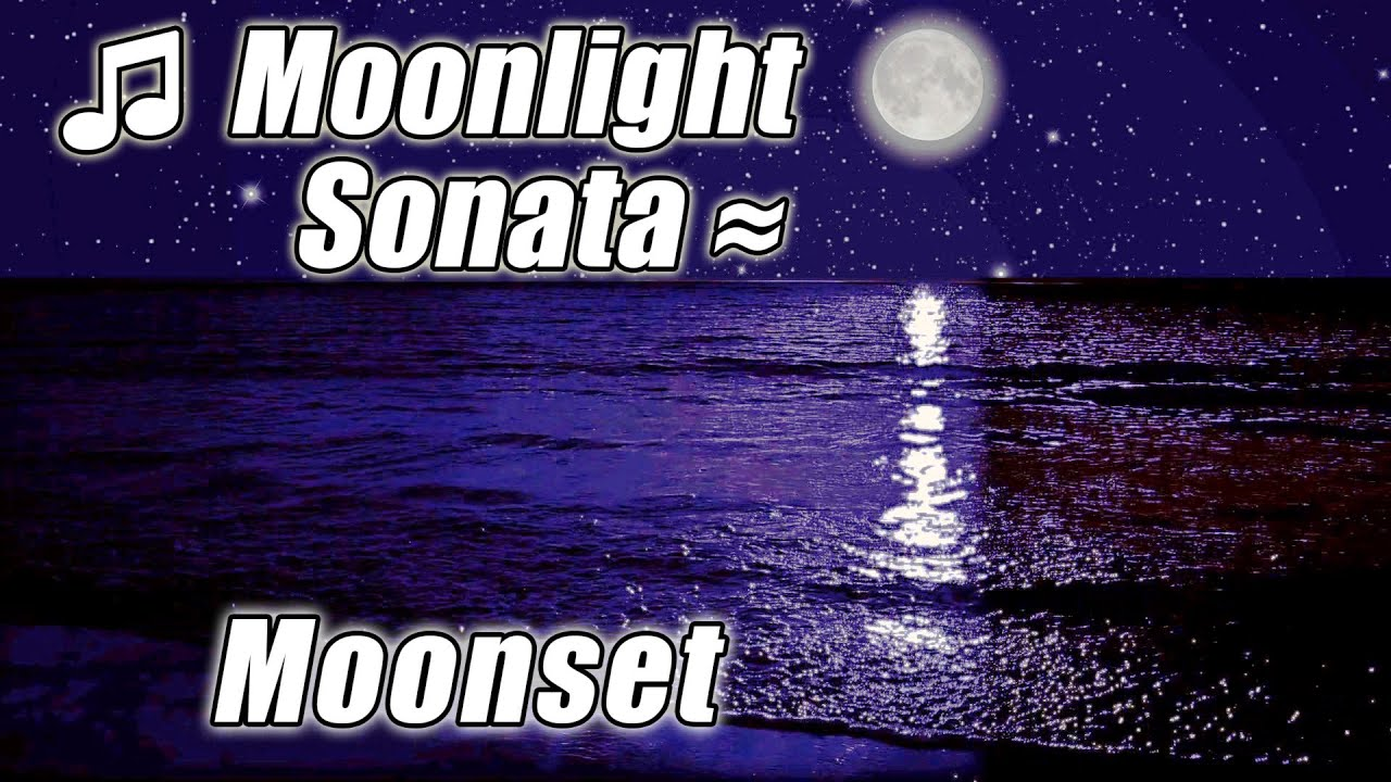 CLASSICAL MUSIC PIANO for Studying #1 Playlist Sad Slow Classic Twilight  MOONLIGHT SONATA Beethoven