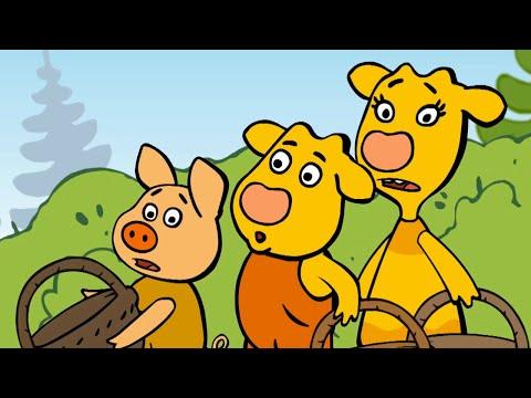 Оранжевая Корова - Сборник серий 1-3 - Смешные мультики для детей
