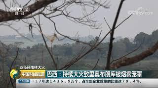 [中国财经报道]亚马孙雨林大火 巴西:持续大火致里奥布朗库被烟雾笼罩  CCTV财经