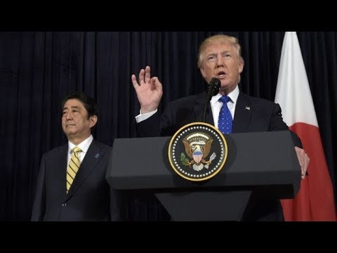 🚨 MUST WATCH: President Donald Trump Holds VITAL Joint Press Conference with Japanese PM Shinzo Abe