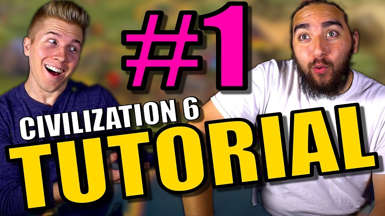 Civilization 6 Tutorial Gameplay | Learning from Civ 5 to Civ 6 Walkthrough  Tutorial | Part 1