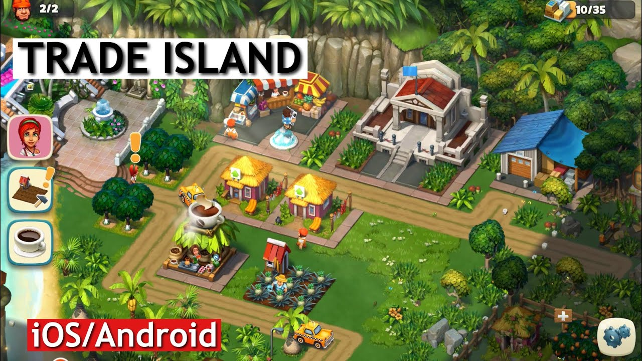 TRADE ISLAND - GAMEPLAY - iOS/Android - YouTube