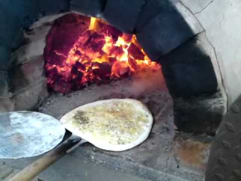 Garlic Bread Recipe Cooking In The Clay Woodfired Oven