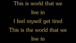 The Killers - The World We Live In lyrics