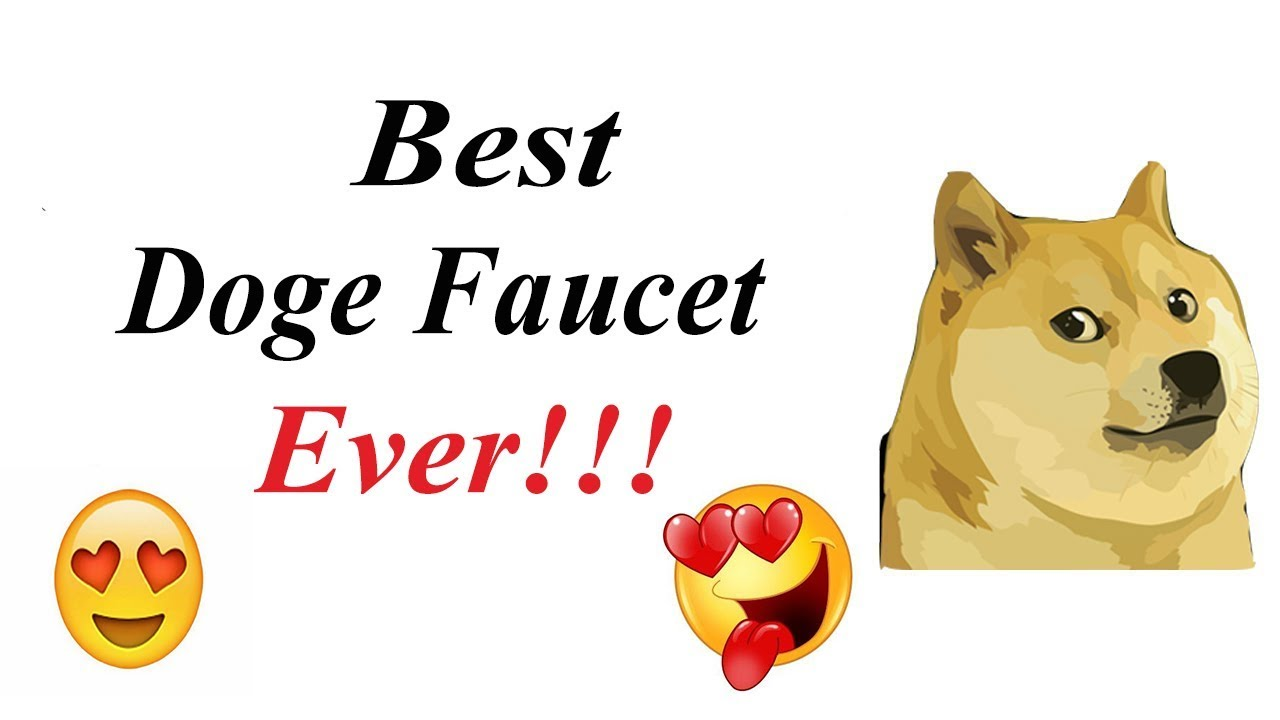 Best dogecoin faucet ever - Claim 0.1 Doge every 1 minute. - YouTube