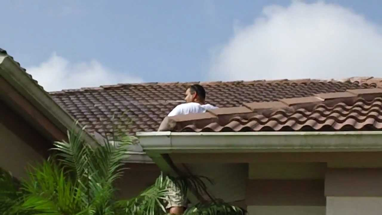 Fisher Amp Sons Roof Cleaning Naples Fl Youtube