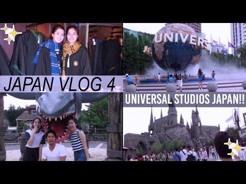 Japan Vlog 4- Universal Studios Japan!!   thetwinsofhearts