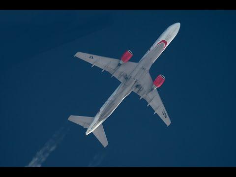 VIM Airlines Boeing-752 flight NN285 DME-SKG Moscow-Thessaloniki, Greece