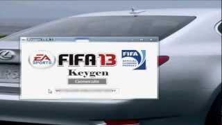 Fifa 13 serial number,crack+ gameplay