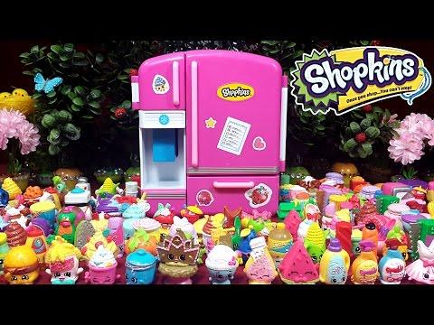 видео: Холодильник Шопкинс! shopkins so cool fridge refrigerator toy. Мультяшный обзор на русском :)