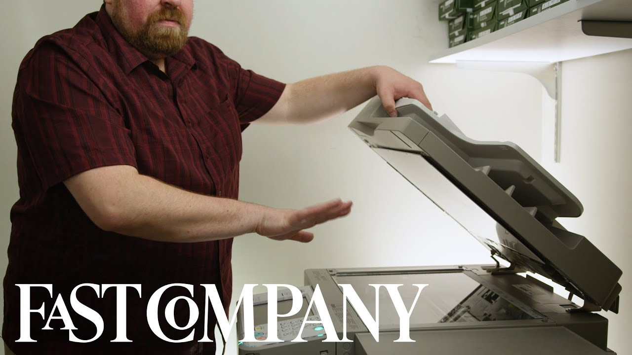 The only copy machine tips you'll ever need   Fast Comedy