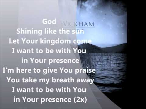 Phil Wickham - Shining with lyrics