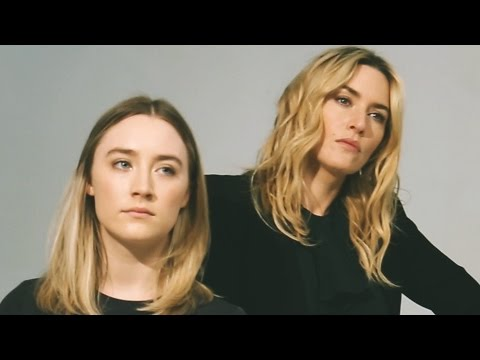 Actors on Actors: Kate Winslet and Saoirse Ronan – Full Video ...