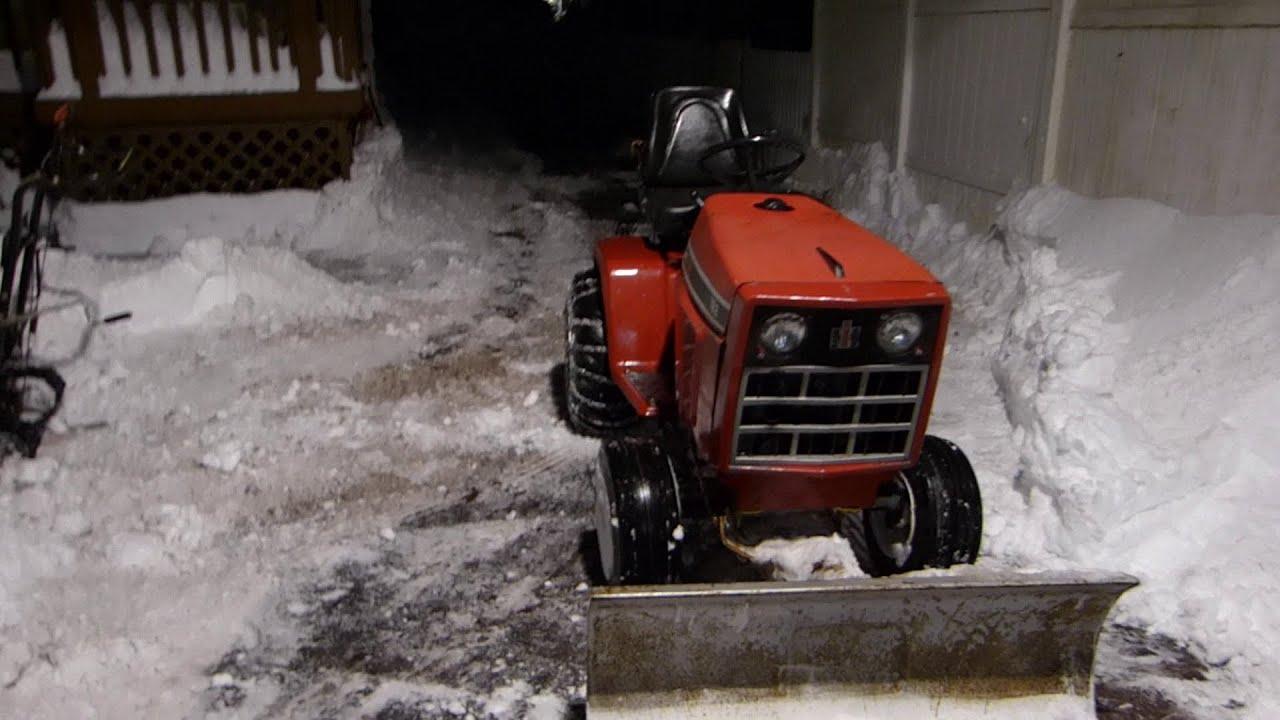 Cub Cadet - Cub Cadet 782 IH snow plow/ engine swap