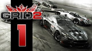Let's Play Grid 2 - EP01 - Dirty Racing(Back with another racing game! I've missed the smell of burning rubber and falling bumpers! Grid 2 is the sequel to the racing video game Race Driver: Grid., 2013-05-31T17:01:41.000Z)