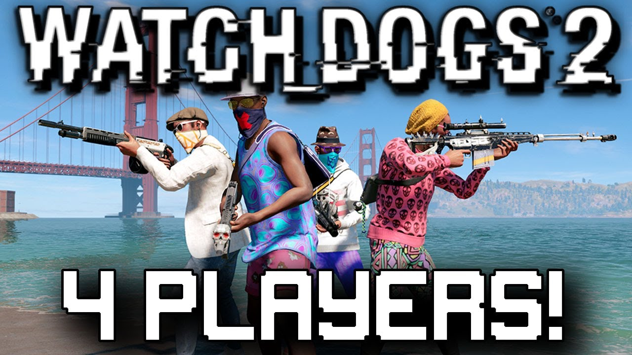 Player Coop Watch Dogs