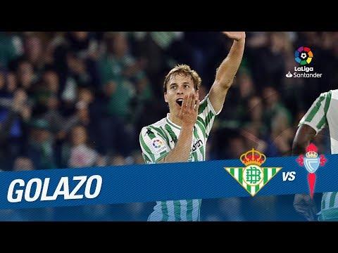 Golazo de Canales (3-3) Real Betis vs RC Celta