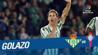 Golazo de Canales (3-3) Real Betis vs RC Celta