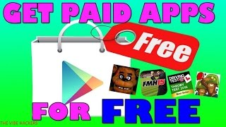 How to download Paid app available on Playstore for free