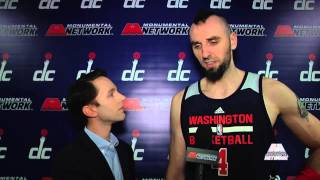 Courtside Report: Marcin Gortat 11/28/14