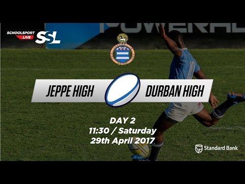 Grey Festival: Jeppe High 1st XV v DHS 1st XV, 29 April 2017