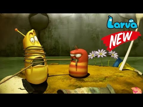 Larva Terbaru New Season  | Episodes UFO - Fishing - Out of Body | Larva cartoon 2018 Full Movie