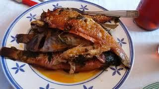 Воскресный обед на Сицилии. Блюда из рыбы.21 Luglio 2019
