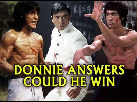 Thumbnail: Donnie Yen Asked Could he Beat Jackie Chan or Bruce Lee in Fight