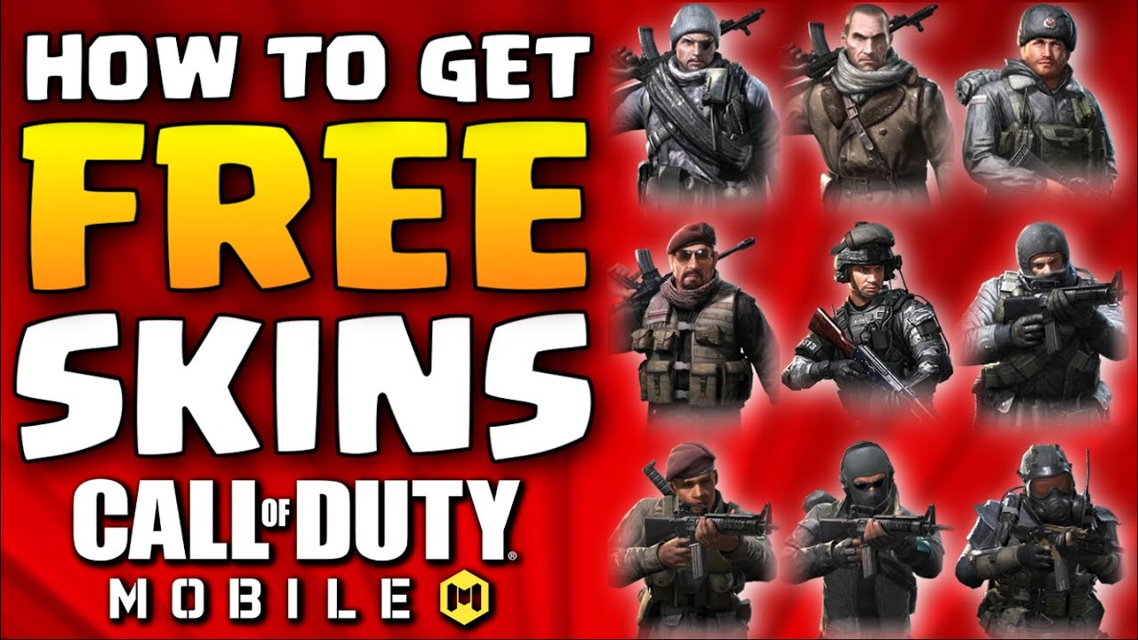 New How To Get Free Soldier Skins In Call Of Duty Mobile Season 6