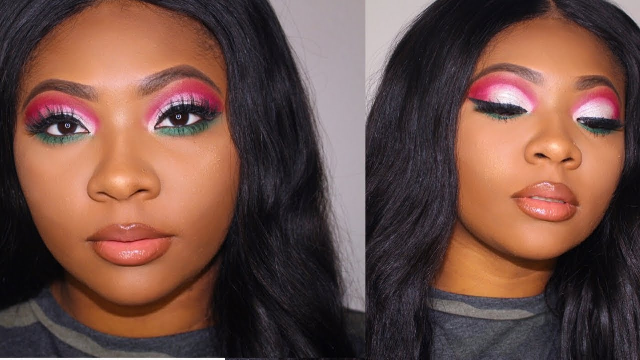 CHRISTMAS CUT CREASE | NYX CANT STOP WONT STOP CONCEALER by Niecy Mays