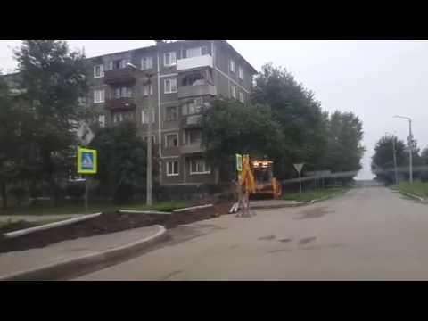 Кировград ул.Дзержинского, раскопки