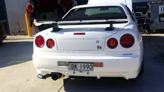 Brodie's R34 GTR walk around.