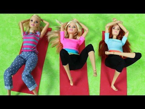 Barbie ve Ailesi Bölüm 75 - Barbie Yoga Dersinde