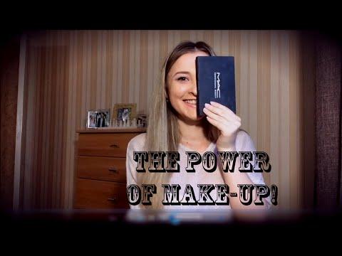 МАКИЯЖ ПОЛОВИНЫ ЛИЦА ✿ THE POWER of MAKEUP!
