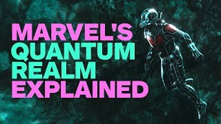 Ant-Man and the Wasp's Quantum Realm Explained