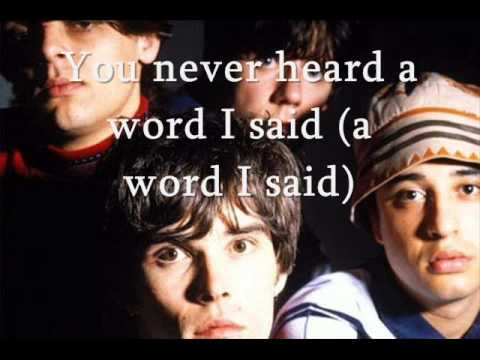 The Stone Roses-The Hardest Thing In The World (with lyrics)