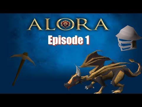 [RSPS] Alora || Iron Man || Episode 1 - The Grind Begins!