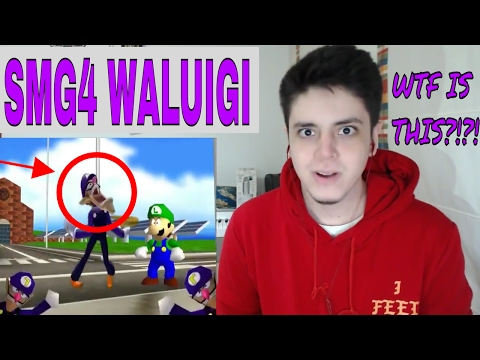 SMG4 - We are number one but it's a Waluigi parody  - REACTION