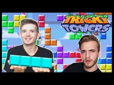 ZNÁSILŇUJI ARTIXE V TETRISU!! - Tricky Towers